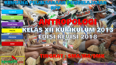 Download RPP Antropologi Kelas XII K13 Revisi 2018