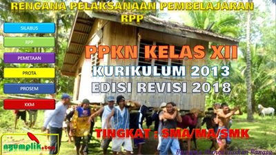 Download RPP PPKN Kelas XII K13 Revisi 2018