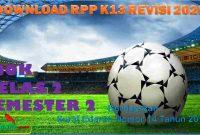 RPP 1 Lembar PJOK Kelas 2 Semester 2 2020/2021