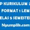 RPP Kurikulum 2013 PAI Format 1 Lembar Kelas 5 Semester Ganjil