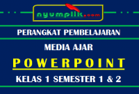 Download Media Powerpoint / Slide PPT Kelas 1